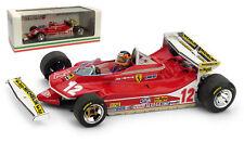 Brumm R514-CH Ferrari 312 T4 #12 Monaco GP 1979 - Gilles Villeneuve 1/43 Scale
