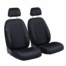 Schwarz Sitzbezüge für FIAT BARCHETTA Autositzbezug VORNE