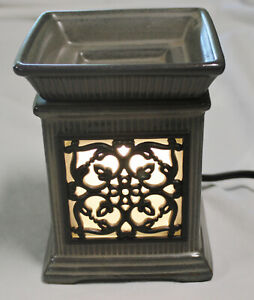 Jane Warmer Scents Full Size Gray Wrought Iron Design + Bulb