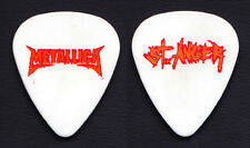 Metallica St. Anger White Guitar Pick - 2004 Tour