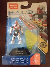 Mega Construx Halo Spartan Soldier Series 9 bloks mini figure white Free Ship!