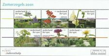 Netherlands block70 mint never hinged mnh 2001 Garden and Flowers