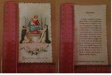 Madonna di Pompei con Preghiera Casa Editrice Cattolica LA VERA ROMA - 127
