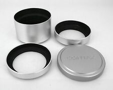 New metal Lens Cap and hood shade  For Contax G with GG-1 GG-2 GG-3