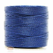 77 Yds. Super-Lon Cord #18 Capri Blue Beading Crafting Stringing Crochet