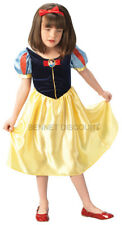 SNOW WHITE CLASSIC DISNEY FANCY DRESS COSTUME HALLOWEEN 7-8 LARGE REDUCED
