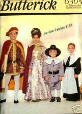 Reduced Butterick 6305 Child King QueenPilgrims Costume Pattern