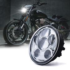 "5 3/4"" LED Phare Feux Avant Hi/Lo 45W 30W Moto DRL Lampe Headlight Pour Harley"