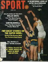 1968 APRIL Sport Magazine College Basketball Lew Alcindor UCLA Bruins FAIR