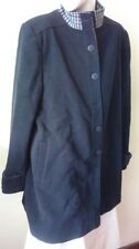 Lady Line Navy Blue Ladies Coat - size 20