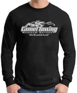 CAMEL TOWING Long Sleeve T-Shirt ~ Removal Tee ~ Camel Toe Snatch it Out! FUNNY