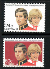 1981 ~Australia~Royal Wedding~Unmounted Mint~Stamp Set~ UK Seller~