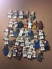 LEGO STAR WARS Lot of 37 mini figures