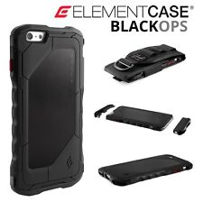 Genuine Black OPS DROP PROTETTIVA Element Case Militari-SPEC PER iPhone 6 Plus