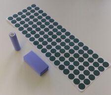108 pcs Pre-Cut 18650 Insulator and Samsung Blue PVC Heat Shrink Wrap Vape ebike