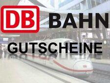 DB Deutsche Bahn Gutschein 350€ - einlösbar bis August 2018 TOP!