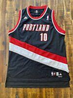 Vtg Adidas Joel Przybilla Portland Trail Blazers Basketball Jersey Youth X-Large