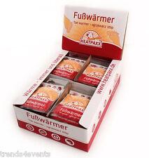 40 Paar Fusswärmer Schuhwärmer Thermopads Zehenwärmer Wärmer Heatpaxx ★B-WARE★
