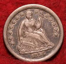 1856-O New Orleans Mint Silver Seated Half Dime