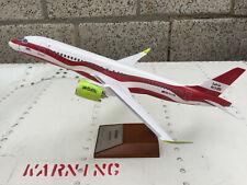 1:100 airbus a220-300 Air Baltic Latvia 100 modelo lo avión Aircraft