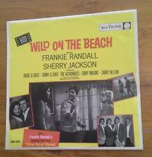 (Wild on the Beach)-S/Track-Frankie Randall/Sonny & Cher/Astronauts-SURF-F8-LP