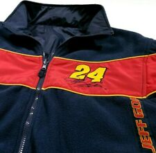 Vintage Jeff Gordon DuPont Reversible Nascar Fleece Jacket Size XL Men's