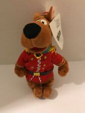 Scooby Doo Nutcracker Soldier beanbag plush mint with tags 1998 Warner Brothers