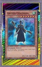 Archer Chachaka ZTIN-FR021 Vent Guerrier Effet Niveau 6 YGO