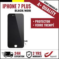 A+ LCD TACTILE SCREEN SCHERM ÉCRAN BLACK NOIR +VERRE TREMPÉ FOR IPHONE 7 PLUS