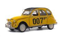 SOLIDO 1850012 CITROEN 2CV 6 diecast model car from James Bond 007 film 1:18th