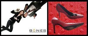 Bones: Dr. Brennan/Emily Deschanel CasaDei $650 Red Heels Shoes FOX COA