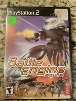 Battle Engine Aquila (Sony Playstation 2 PS2) NO MANUAL TESTED FREE SHIPPING