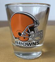 Official Nfl Cleveland Browns Shot Glass