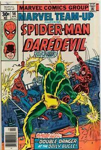 MARVEL TEAM-UP FEAT SPIDER-MAN & DAREDEVIL #56 1977 MARVEL COMICS GROUP