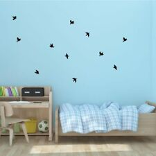 Flying vinyl Birds easy to apply-Vinyl Wall Decals- Pick Color- Art Decal