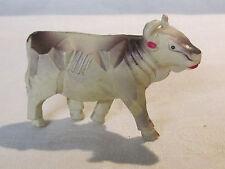 Vintage celluloid cow figurine, Japan