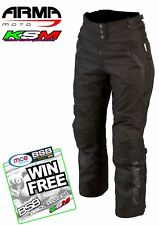 ARMR MOTO KIRA 2 LADIES MOTORCYCLE WATERPROOF TROUSERS 12
