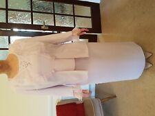 Designer 3 Piece Suit Medici. Pinky Lilac Size 14