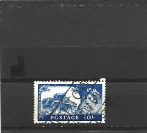 Great Britain 1955 Castles 10/- Blue Used