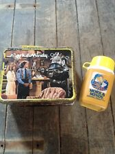 Vintage 1979 Mork & Mindy Lunch Box With Thermos / Thermos Brand