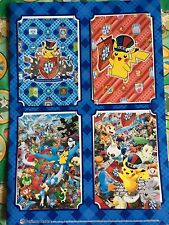 Pokemon Center Japan Post Cards set lot Package Pack 2012 Latias Pikachu(  plush