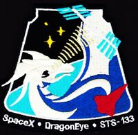 DragonEye - SPACEX - STS-133 SATELLITE Launch - AN EXCELLENT QUALITY REPRO PATCH