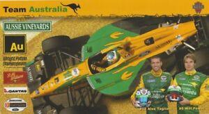2006 Walker Racing Team Australia Ford CART Champ Car Hero Card PAGENAUD POWER