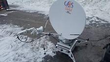 AVL Technologies TracStar L3 VSAT Cheetah GSC-2100W Satellite Antenna FlyAway
