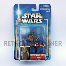 STAR WARS Kenner Hasbro Action Figure - SAGA COLLECTION - Kit FIsto Jedi Master