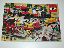 VINTAGE LEGO 1984 CATALOG FOLDER 'TREINENBOEK' DUTCH