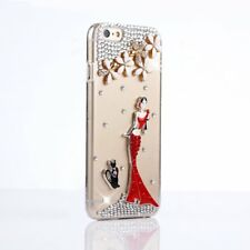 Girls' Glitter Jewelled Bling Crystal Diamonds Soft gel Phone back Case Cover #1