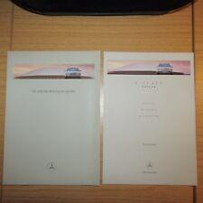 MERCEDES  W210 E200 E240 E250 E280 E300 E320 E430 E Class Saloon Brochure 1997