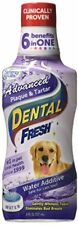 Water Additive For Dogs Dental Fresh Advanced Plaque & Tartar Dental Care 8 oz