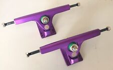 New Caliber Ii 10 Inch/184Mm 50 Degree Satin Purple Skate Trucks Set